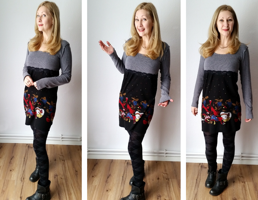 The easy DIY dress refashion + quick mistake fix