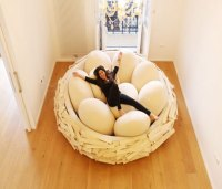 Giant Bird Nest Bed - Awesome Stuff 365