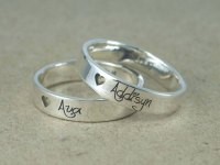 40 Matching Promise Rings For Couples - Awesome Stuff 365