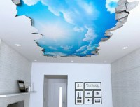 Blue Sky Ceiling Art Decals - Awesome Stuff 365