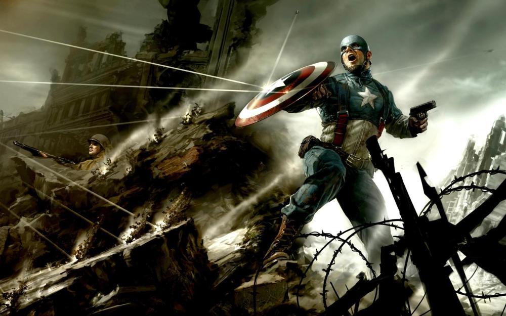 Captain America Wallpapers   (4/6)