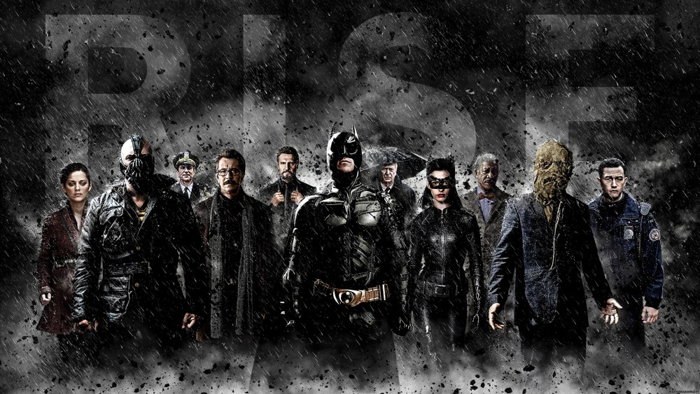 The Dark Knight Rises Wallpaper Set (3/6)