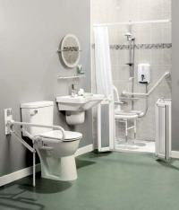 handicap accessible bathrooms  awetroom