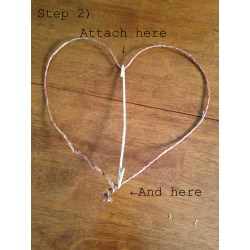Hairy Branch To Base Easy Steps Awkward Olive Start Wrapping Wire Around Base And One Heart Make Diy Rustic Heart Wreath