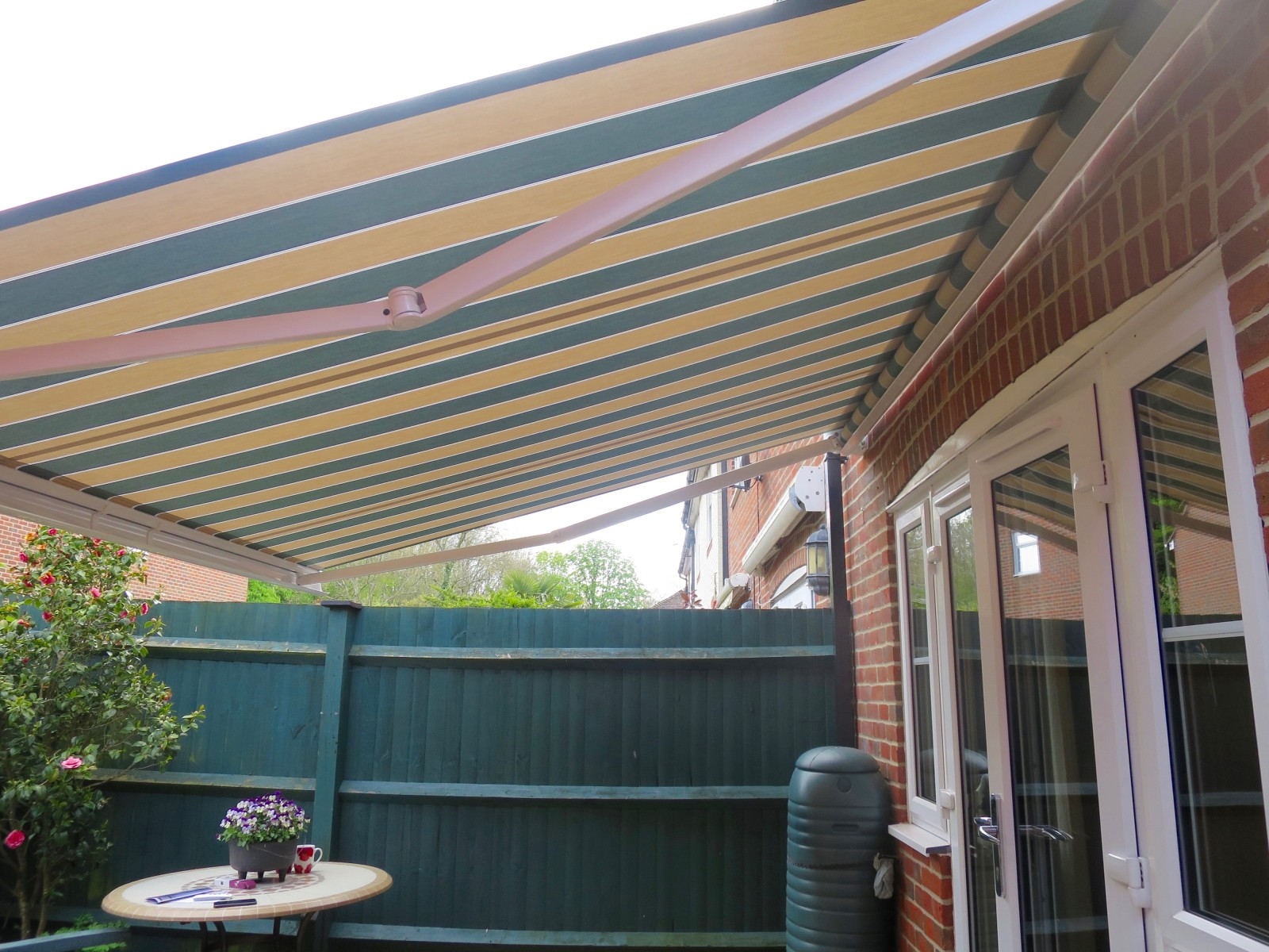 Electric Patio Awning Fitted In Romsey Awningsouth