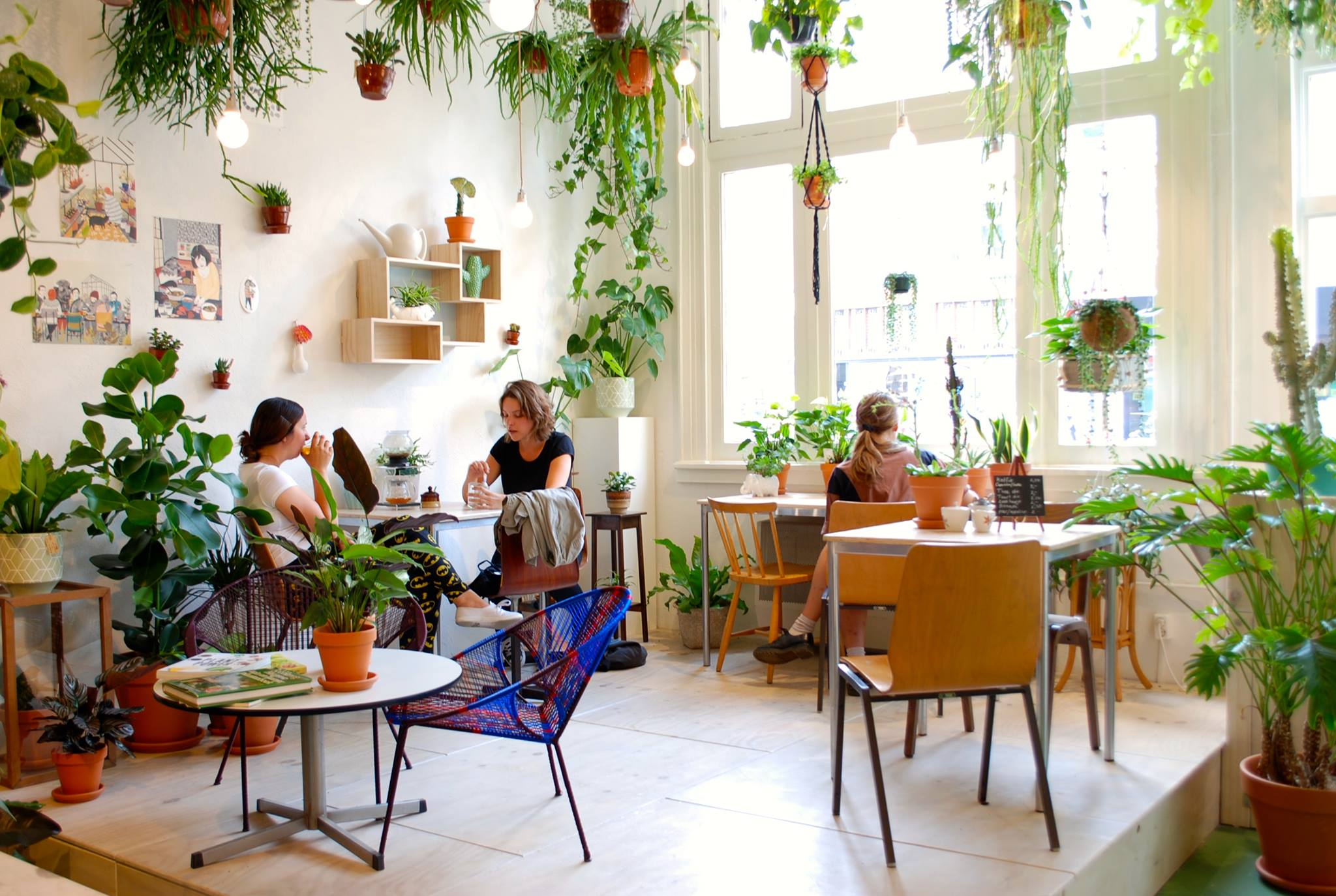 Plant Shop Amsterdam We Would Live In This Amsterdam Cafe If We Could