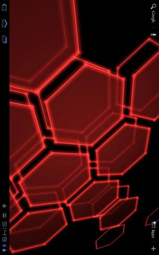 3d Wallpapers Blue Theme Wallpaper Hexagons Amp Honeycombs Awol Trends