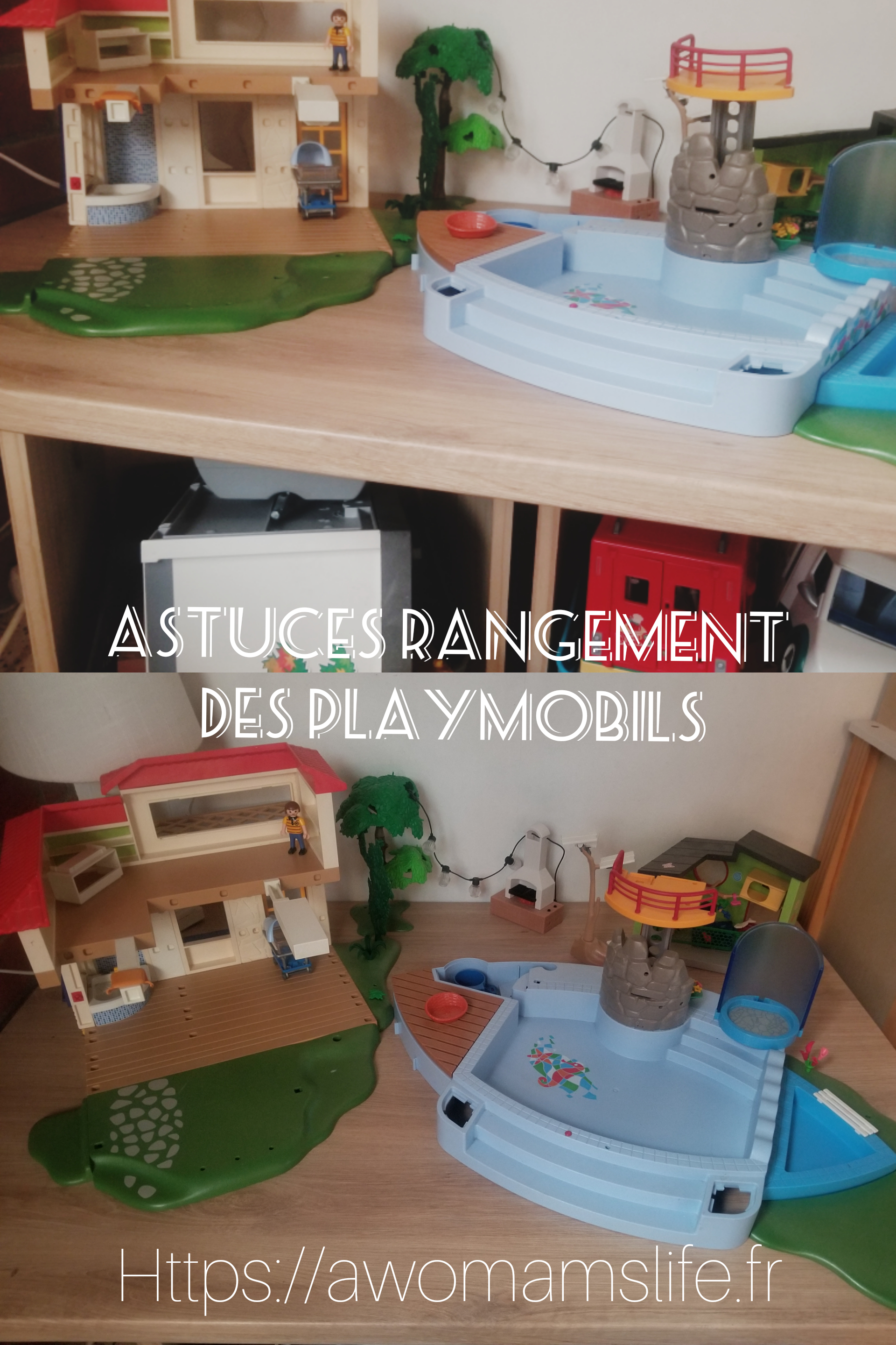 Astuces Rangements Playmobils A Womam S Life