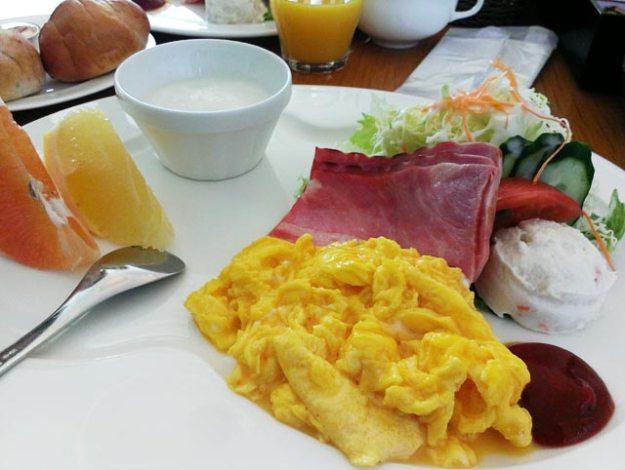 北海道富良野飯店Furano Natulux Hotel西式早餐