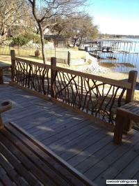 Deck Railing for Texas Lake House