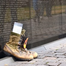 The boots that leave no sound; an ehereal march