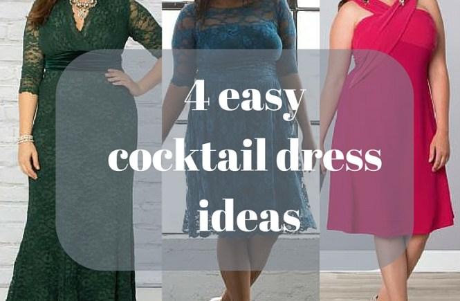 4 easy cocktail dress ideas