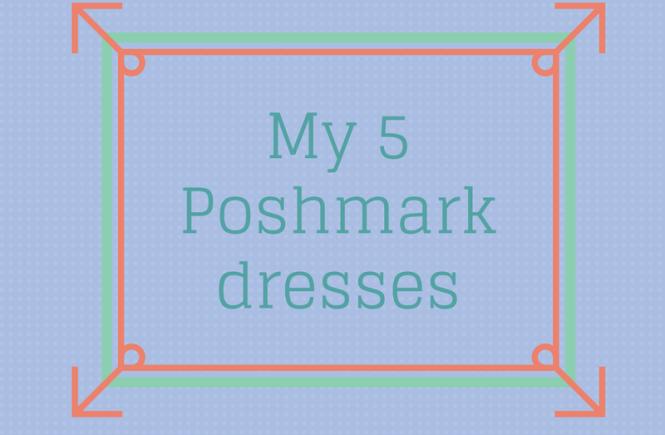 poshmark dresses