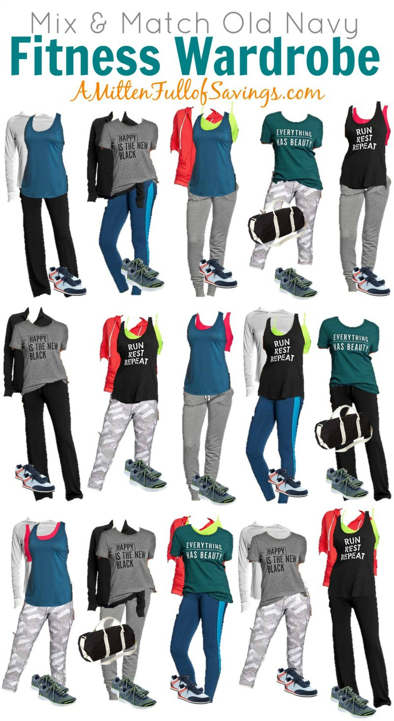 Mix And Match Get Ready For The Gym Mix Match Fitness Wardrobe