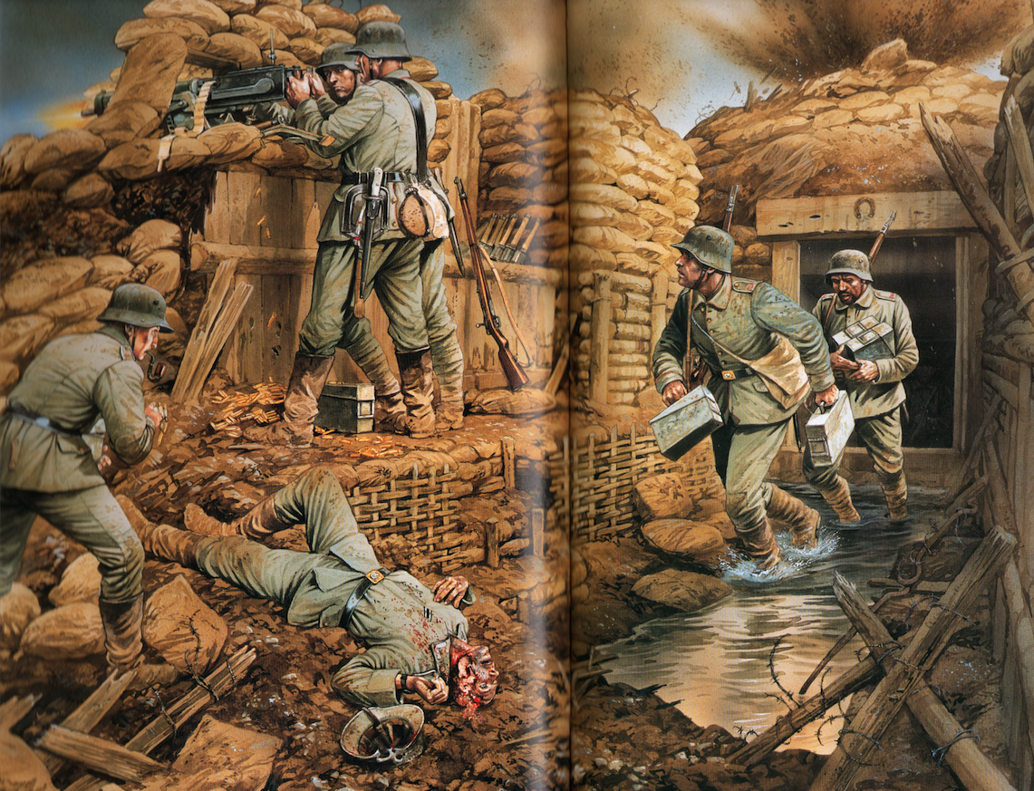 Facts About Wwi 10 Facts About Wwi Trenches A Writer Of History