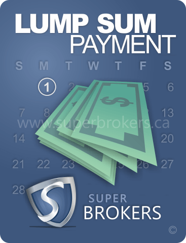 Lump Sum Payment - Super Brokers by TMG The Mortgage Group