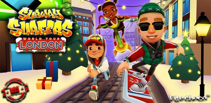 download game subway surfers mod apk london