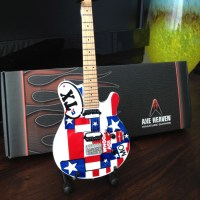 Jaret Reddicks Badass Texas Guitar! Mini Guitar Replica ...