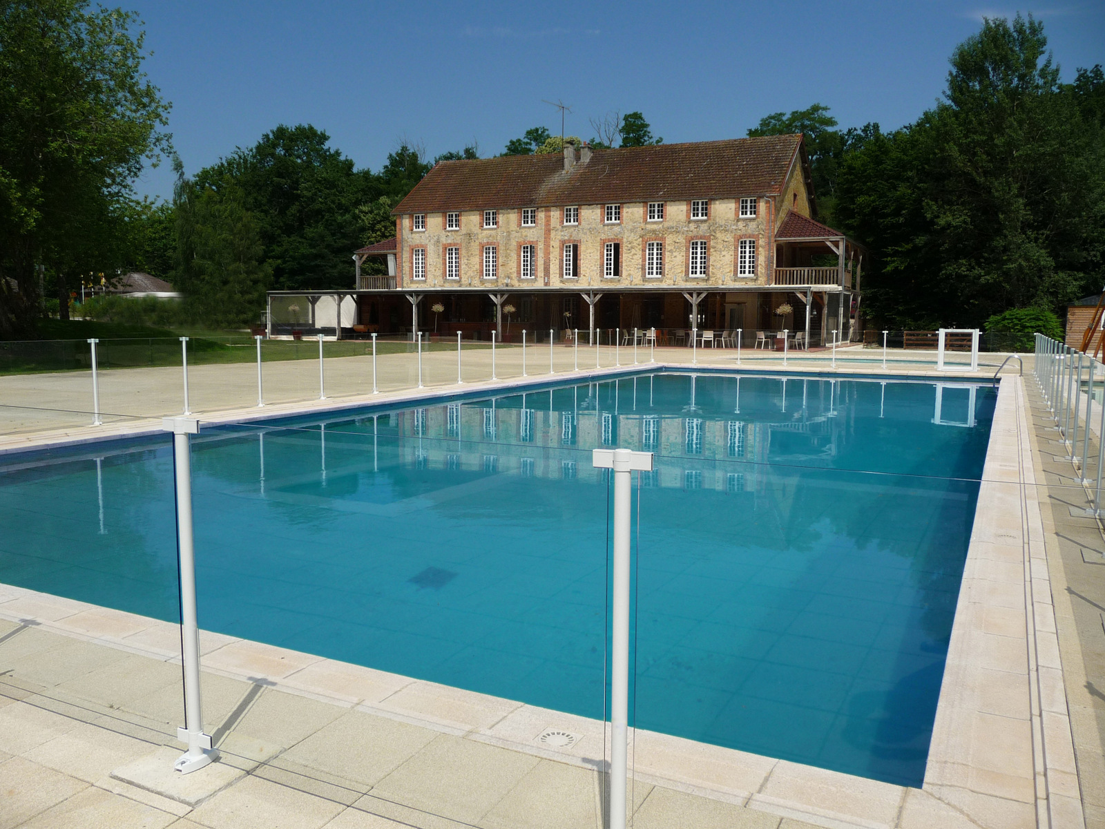 Cloture Demontable Jardin Cloture Filet Piscine Piscine Securite Enfant Barriere