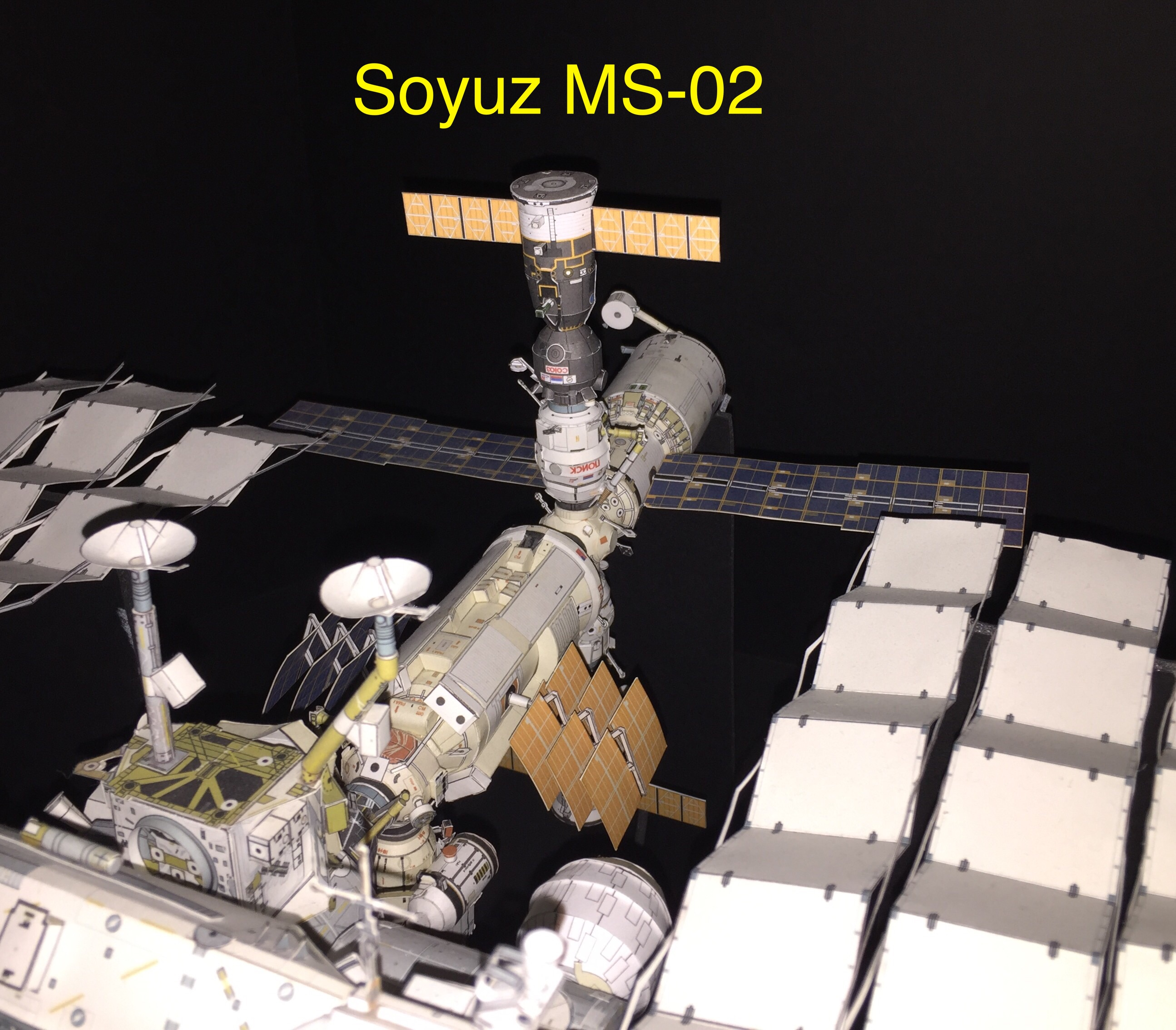 Soyuz MS-02 arrives at ISS
