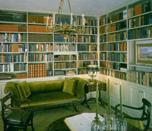 governor's mansion library