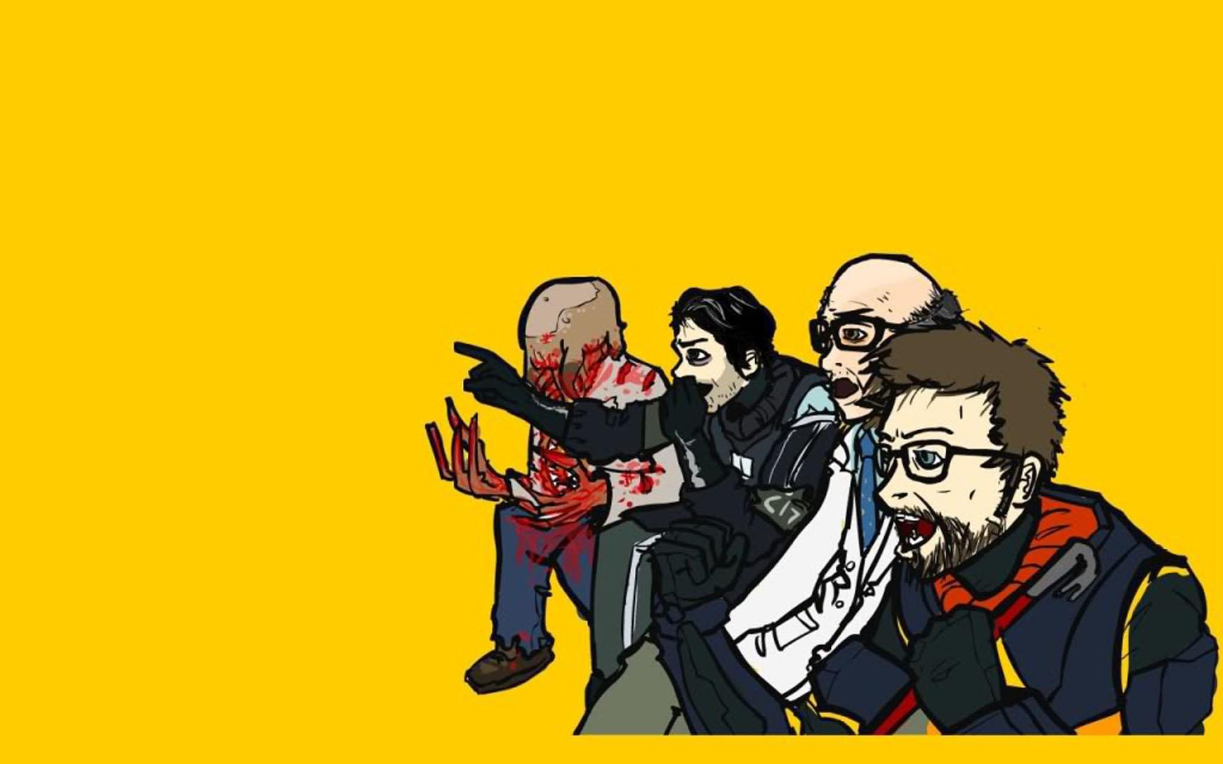 Animated Thanksgiving Wallpaper Cartoon Halflife Half Life 2 Wallpaper