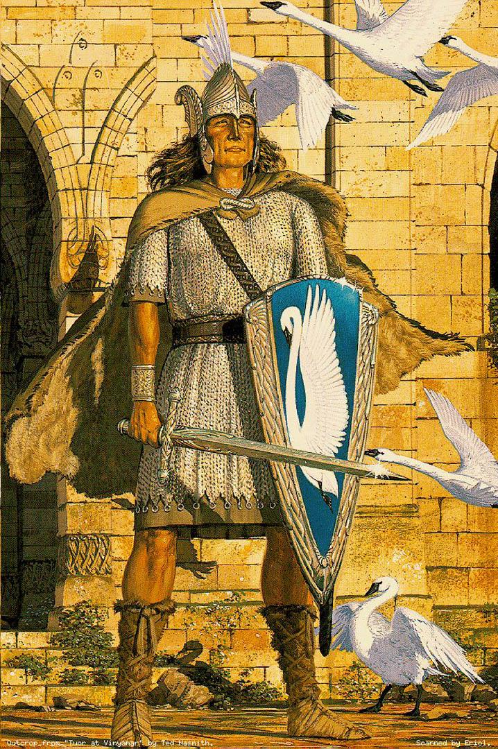 Lotr Fall Wallpaper Tuor Fantasy Silmarillion