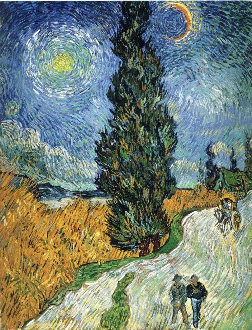 Mind Previous Vincent Van Gogh Cypress Against A Starry Sky Cypress Against A Starry Sky Vincent Van Gogh Wallpaper Image Van Gogh Wallpaper Android Van ...