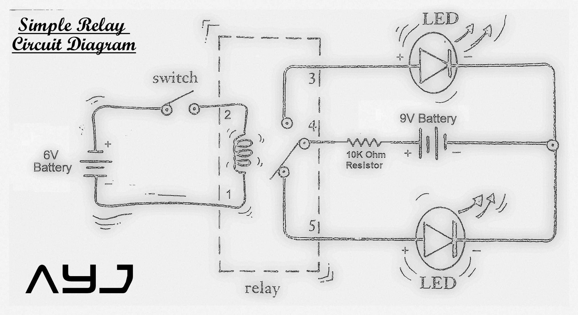 simple relay stepup circuits