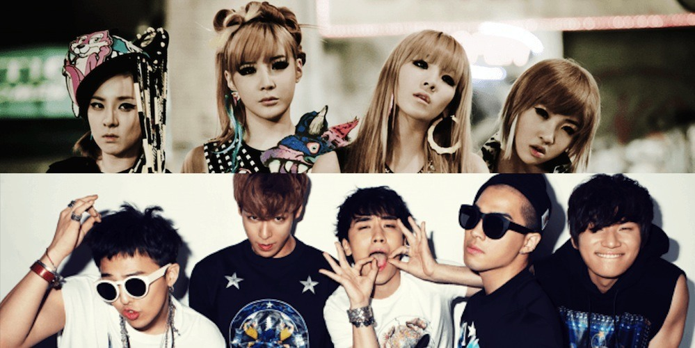 2ne1 Falling In Love Wallpaper Article 2ne1 And Bigbang Featured On Youtube Music
