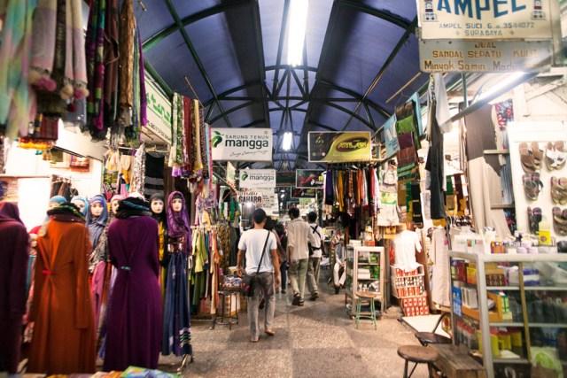 Ampel Suci alley kampung Arab Surabaya