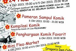 24 Hour Comics Day Surabaya