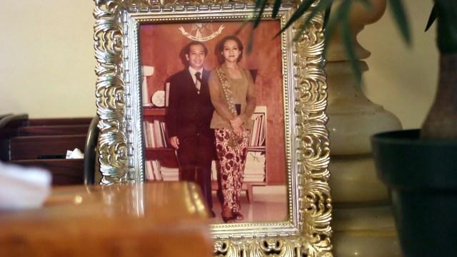 Foto Harjono Sigit dan istri