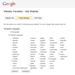 google translator wordpress 4