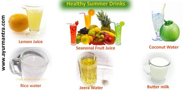 Summer health drinks