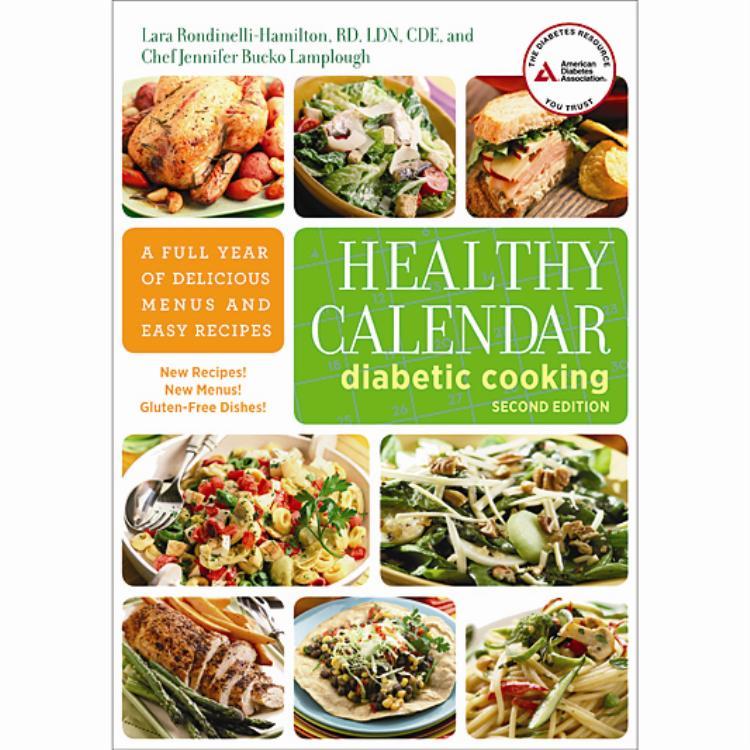 Healthy Calendar Diabetic Cooking, 2nd Edition - diabetic daily menu