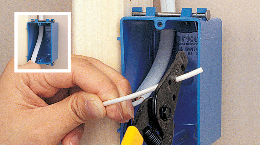 Wiring an End-of-Run Receptacle