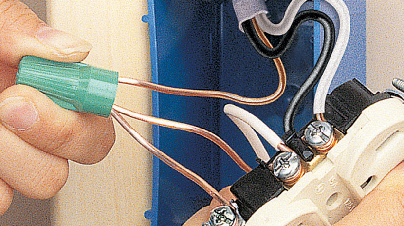 Wiring a Middle-of-Run Receptacle