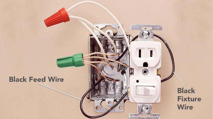 Wiring a Switch/Receptacle