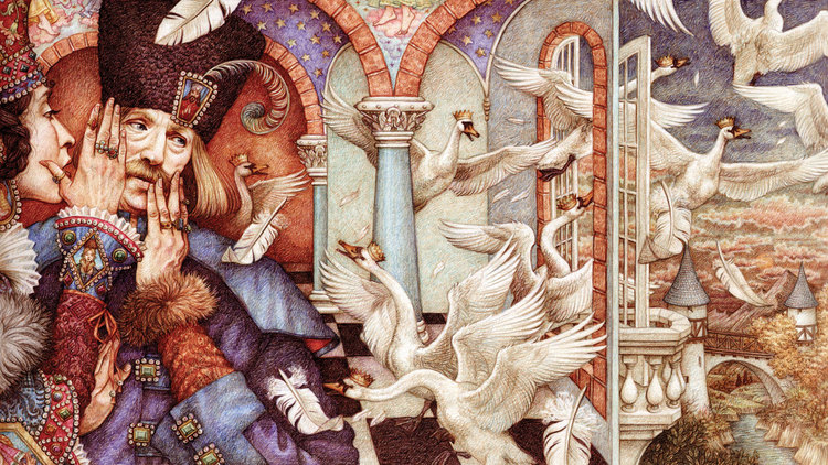 The Wild Swans (Queen Whispering)\