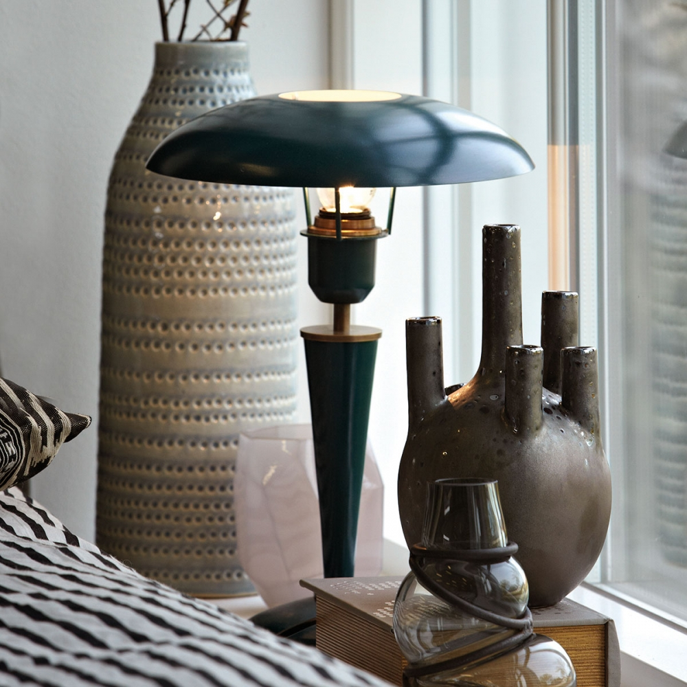 House Doctor Opal Opal Table Lamp Grey