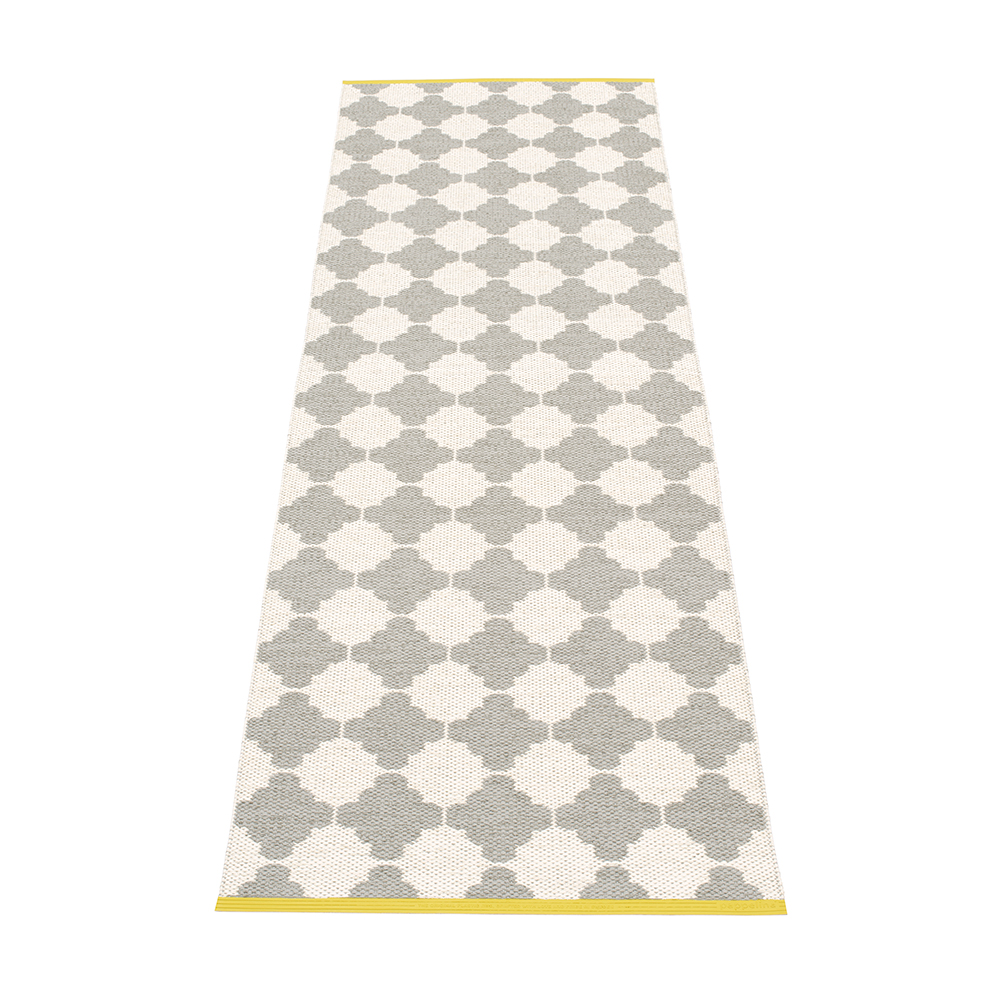 Marre Matte 70x150 Cm Warm Grey Vanilla Mustard Pappelina Royaldesign