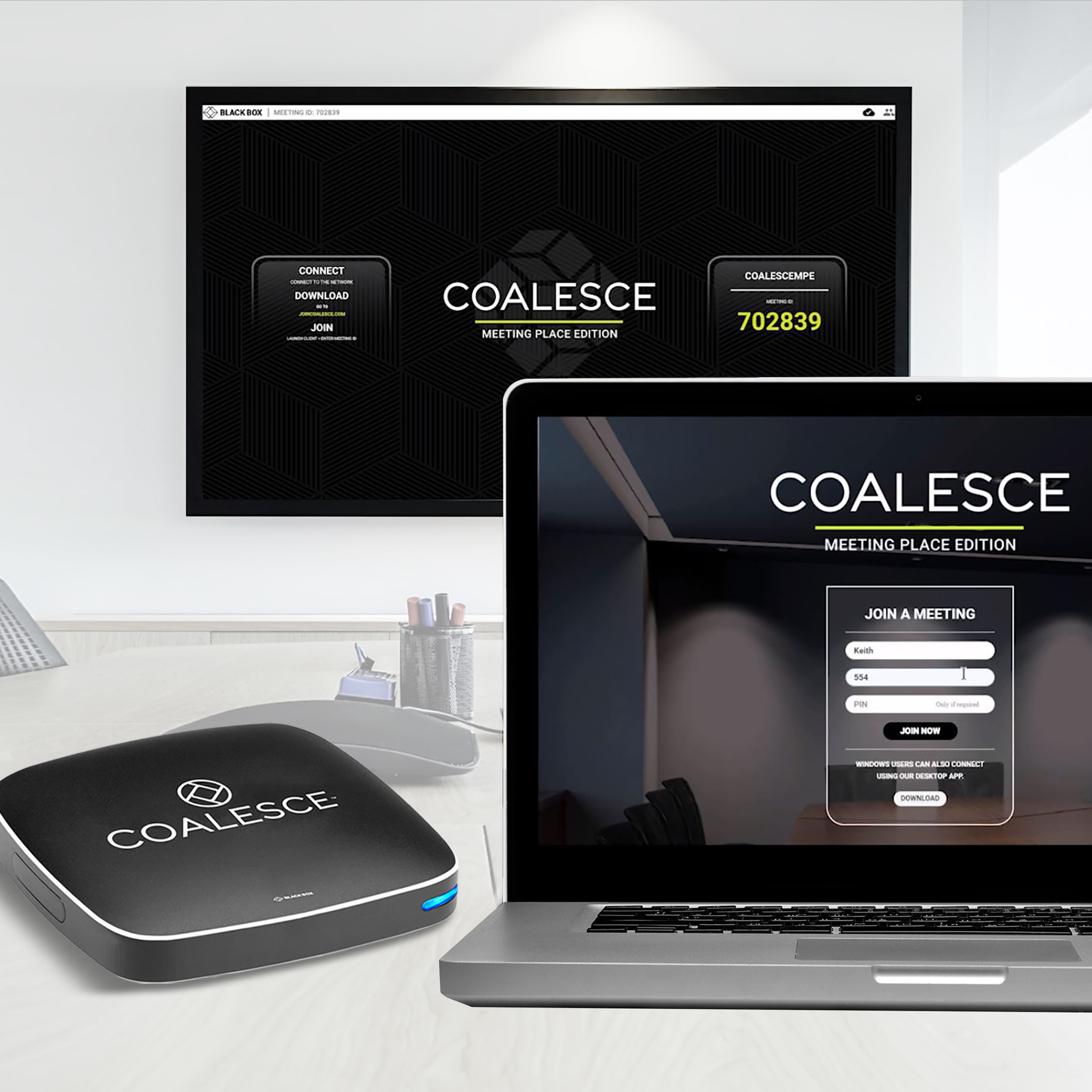 Connect Wc Wireless Presentation System Coalesce Mpe Black Box
