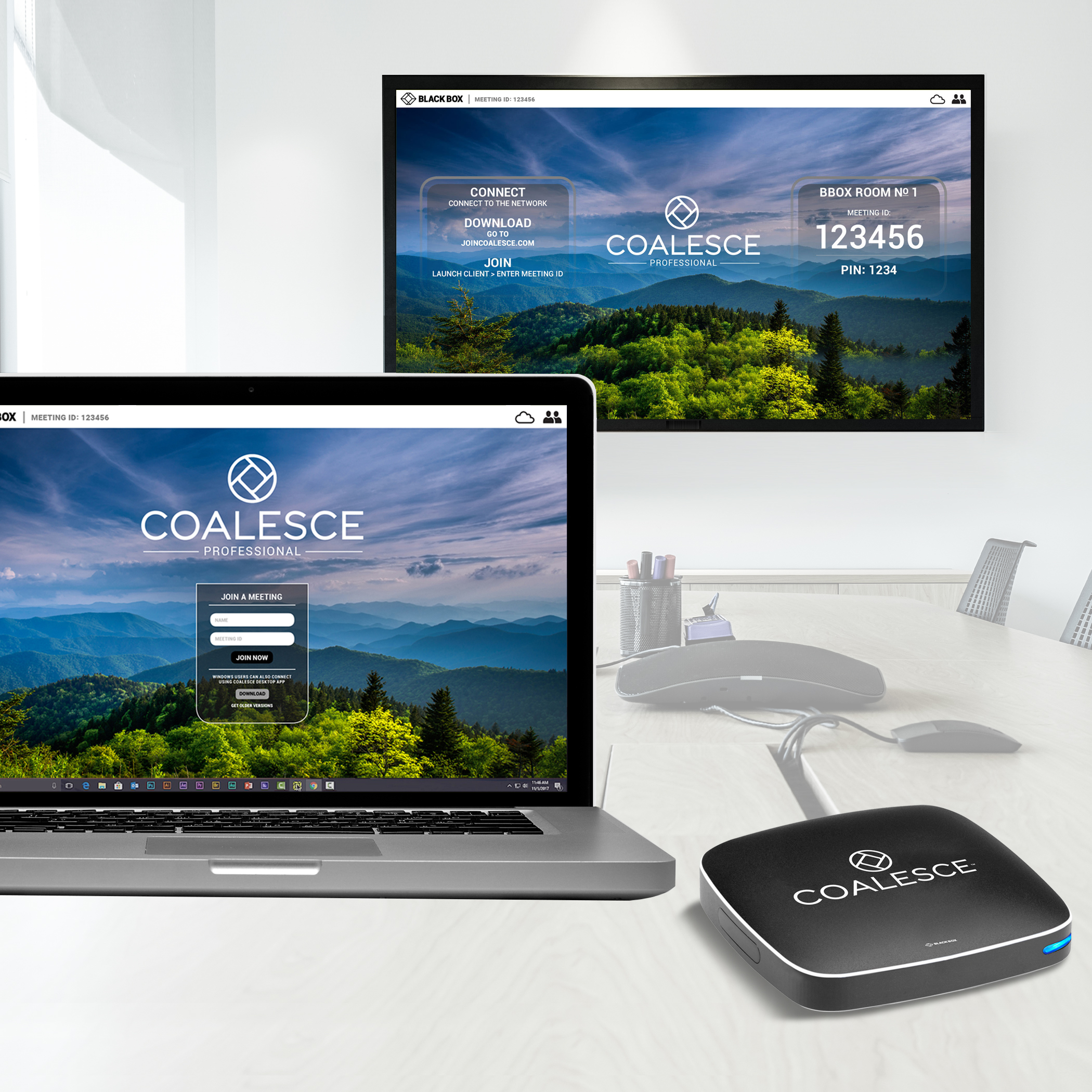 Connect Wc Videoconferencing Wireless Presentation System Coalesce Pro
