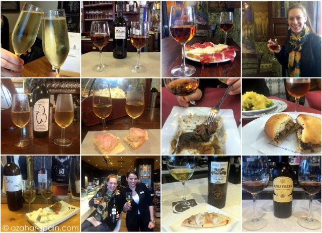 sherry sipping collage