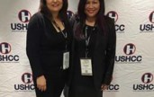 Lea and Cecilia at USHCC.jpg PIC THCC