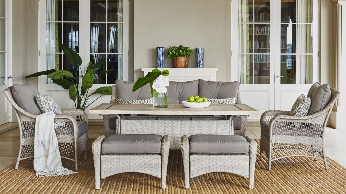 Harvey Norman Side Tables Buy Barbuda Outdoor Dining Setting Harvey Norman Au