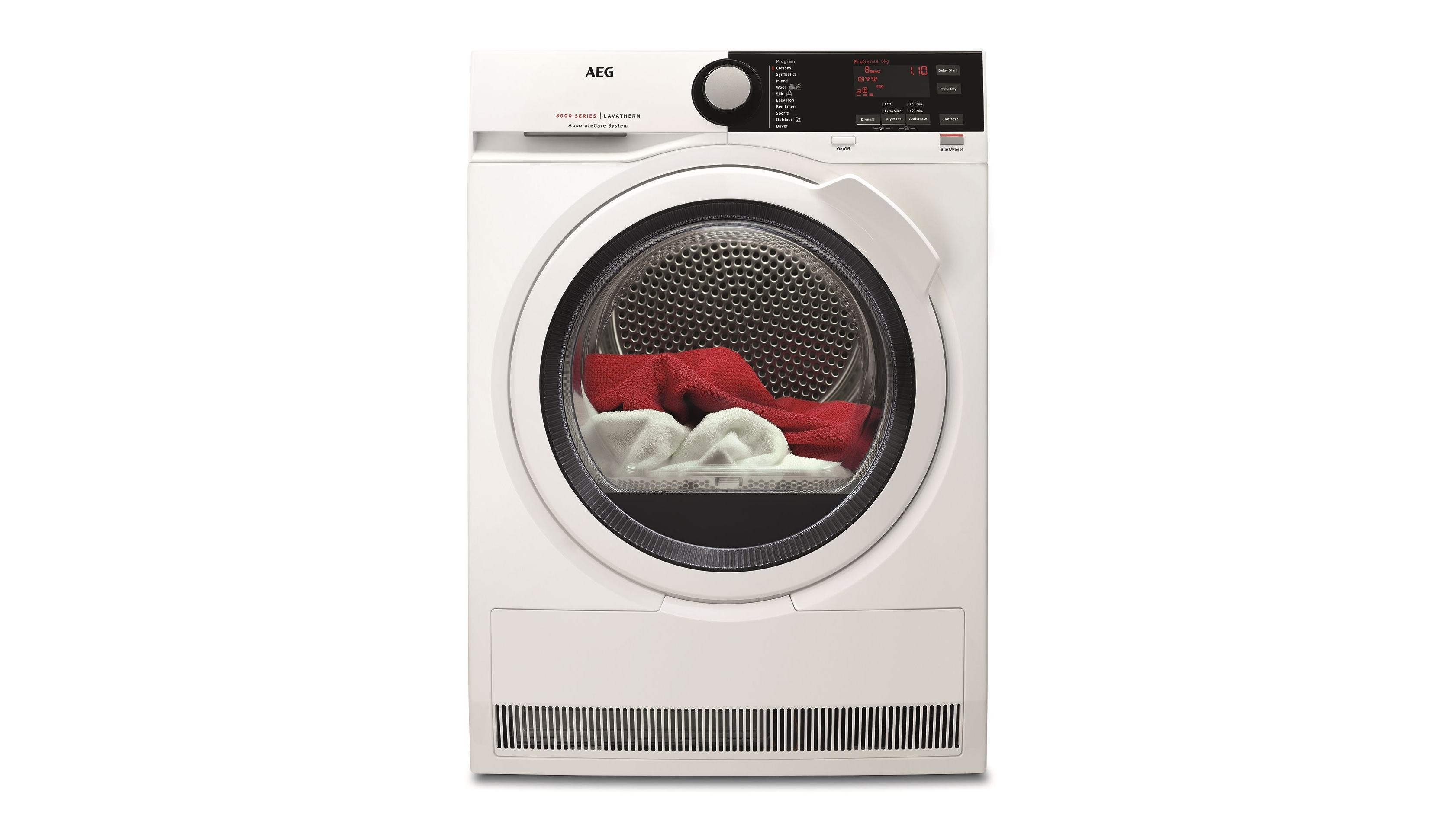 Aeg Online Shop Aeg 8kg Heat Pump Dryer With Absolutecare System