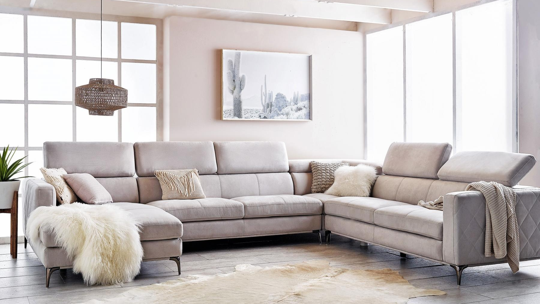 Sofa For Sale Houston Buy Houston 6 Seater Fabric Modular Sofa With Chaise Harvey