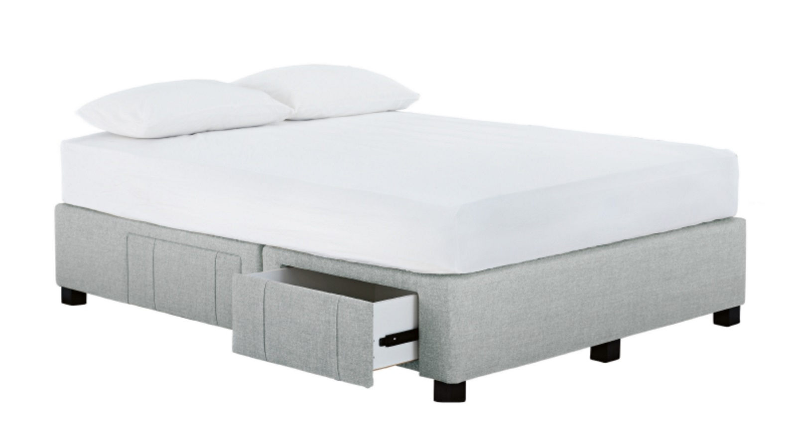 Bed Bases Melbourne Buy Jett 4 Drawer Queen Bed Base Harvey Norman Au